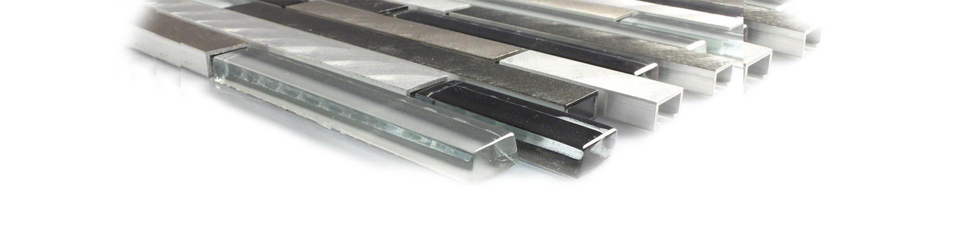 aluminum mozaiek Olvast Tegels