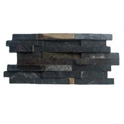 STACK BLACK SLATE WALL CLADDING 01A-SH 20X40X1,5-2,5
