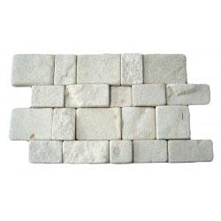 WHITE WALL CLADDING TB1E 25X40X1,5-2,5