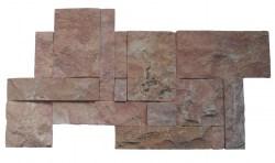 wall cladding 02 dark terra cotta 25x50
