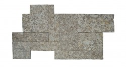 wall cladding 02 white trotol 25x50