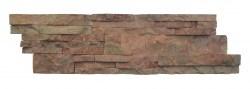 wall cladding 07 dark terra cotta (red) 15x50