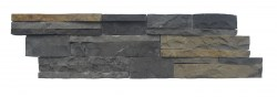 wall cladding 07 gray brown 15x50